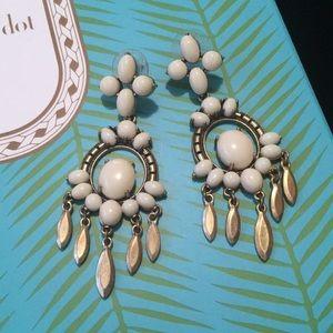 Stella and Dot Havana Chandelier Earrings